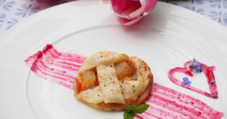 Blätterteig Quickie Teil 3 – Vegane süsse Mini Apfelkuchen
