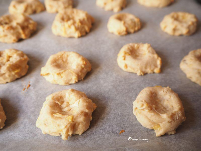 Vegane Bananen Erdbeer Cookies