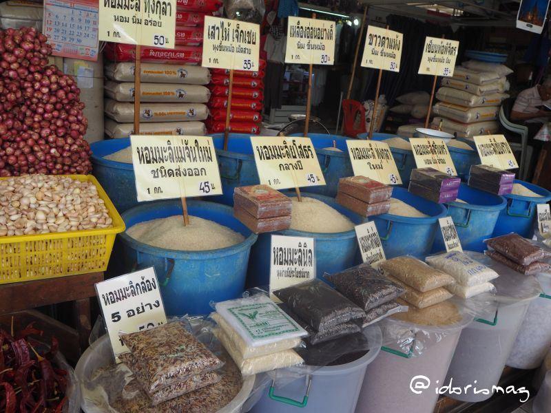 Verschiedene Reissorten Bangkok