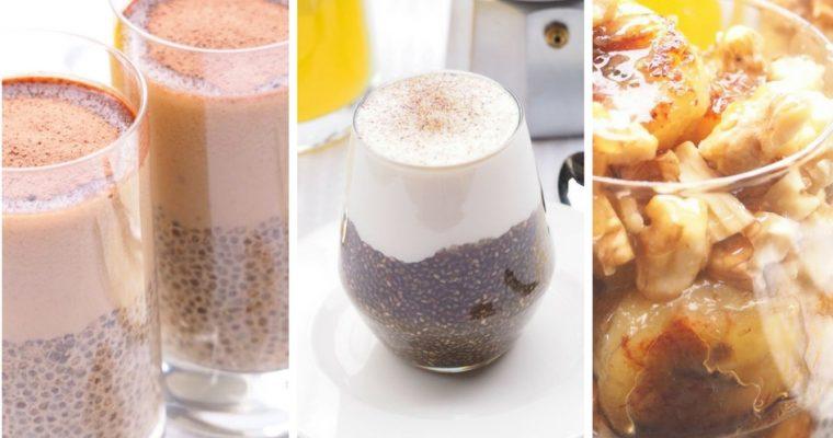 Fürs gesunde Frühstück: 3 Chiasamen Rezepte. Super Einfach – Super Lecker – Super Food