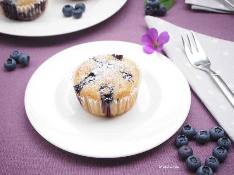 Super duper geile – Heidelbeer Apfel Muffins