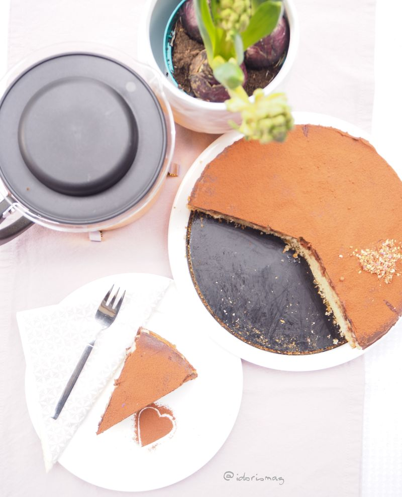 Veganer Kuchentraum – Schokolade Bananen Kuchen