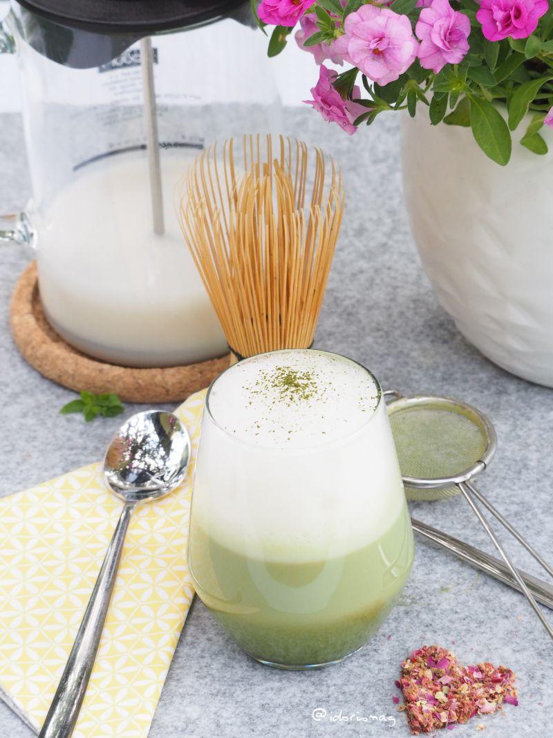 Veganer Matcha Latte Rezept