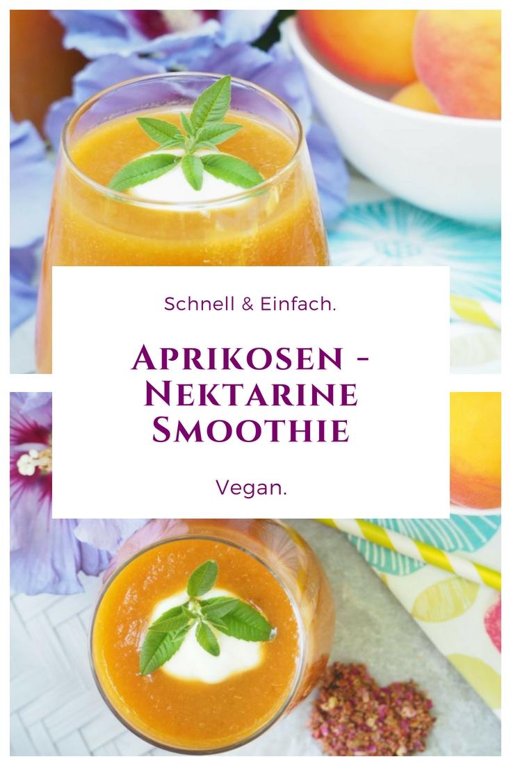 Veganer Marillen / Aprikosen - Nektarinen Smoothie