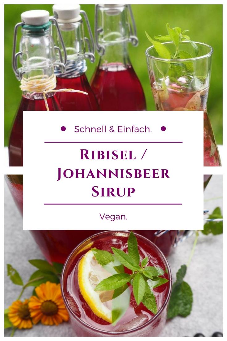 Ribisel / Johannisbeer Sirup