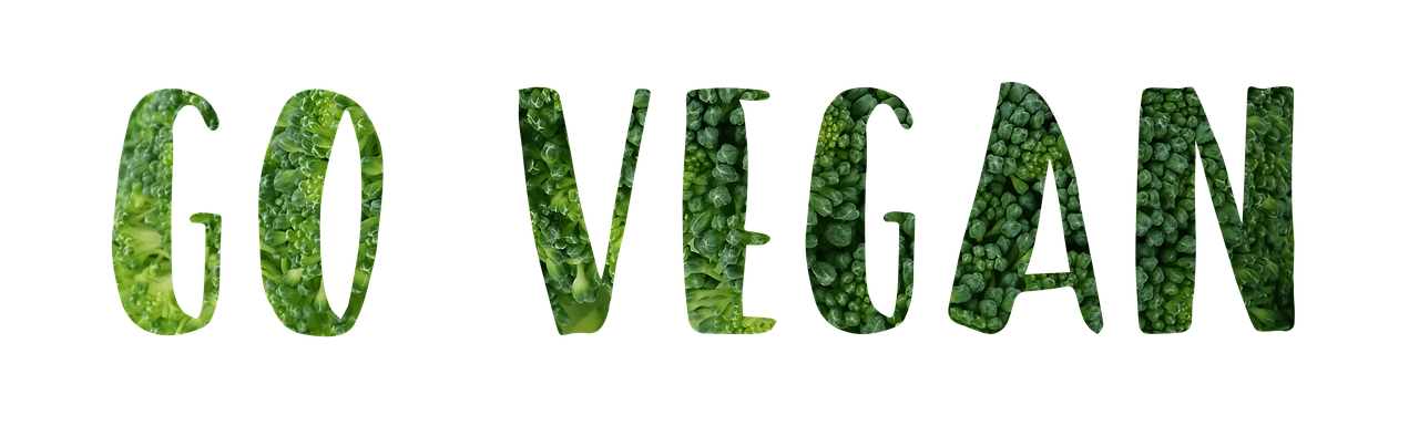 Go Vegan - Green