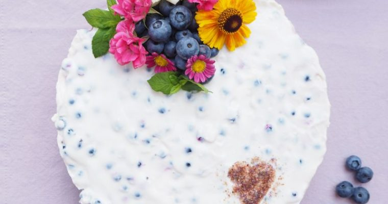 Sommerliche Schokolade Torte mit Joghurt – Ribisel Creme