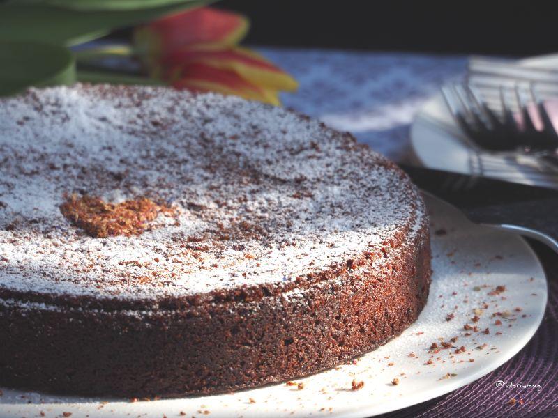Veganer Schokolade Kirsch Kuchen