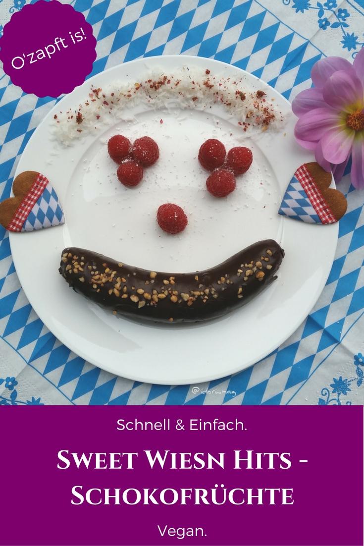 Oktoberfest - Vegane Schokolade Früchte