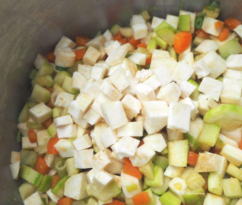 Kartoffel Brokkolie Gemüse Creme Suppe