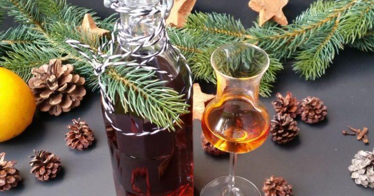 Winterlicher Vodka Bratapfel Likör