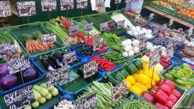 Wien Naschmarkt Vegan - Gemüse