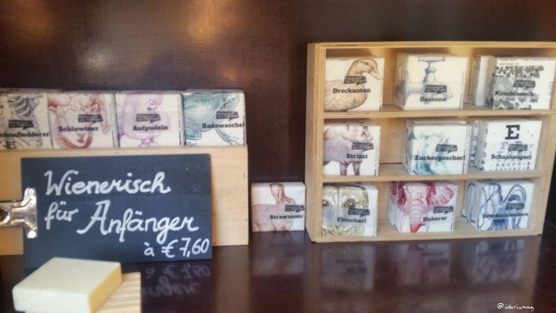 Vegan in Wien - Naschmarkt - Alles Seife