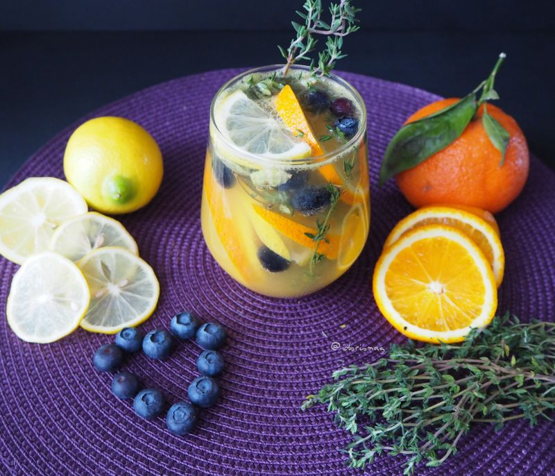 Infused Water - Zitrus Thymian