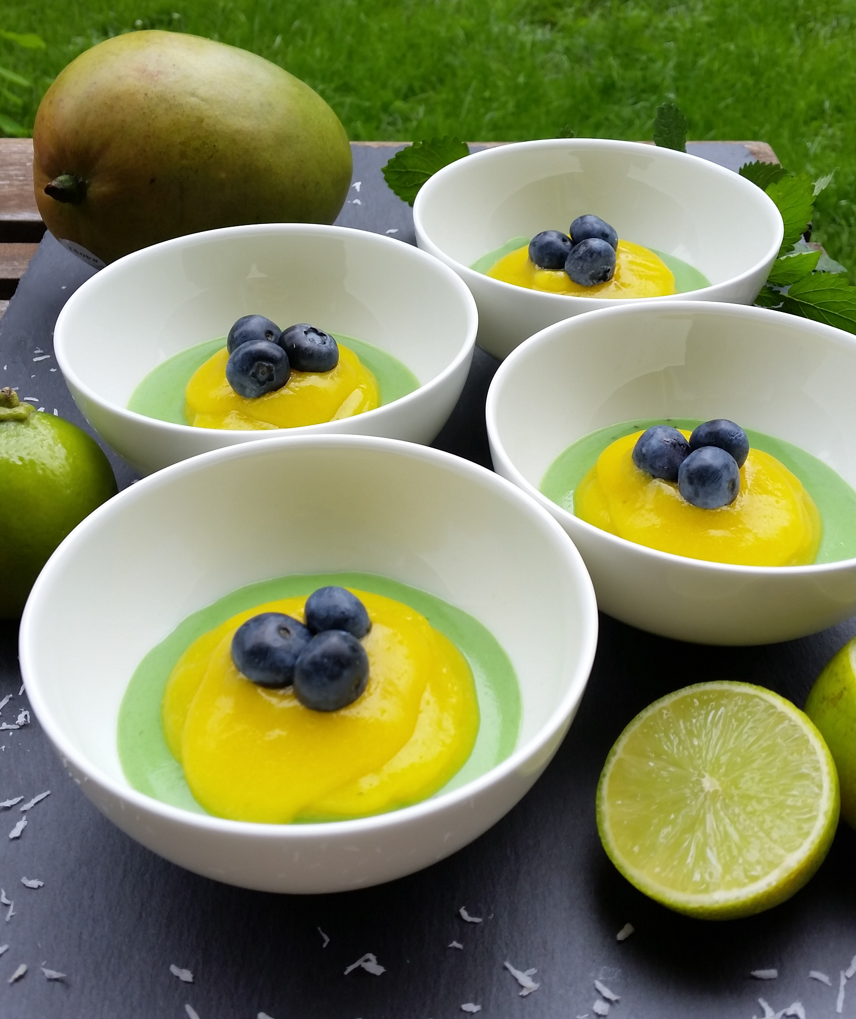 Veganer Brasilianischer Pudding