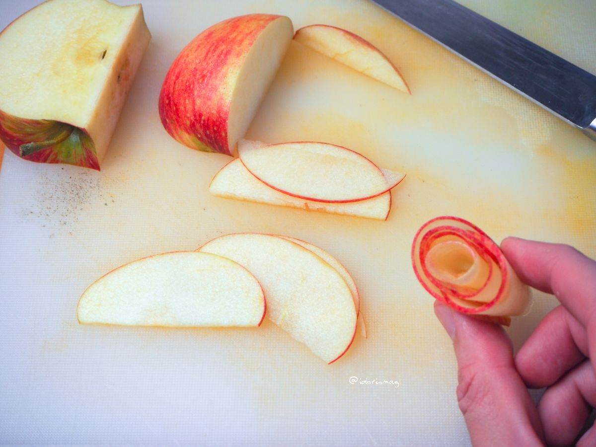 Vegane Apfel Zimt Muffins