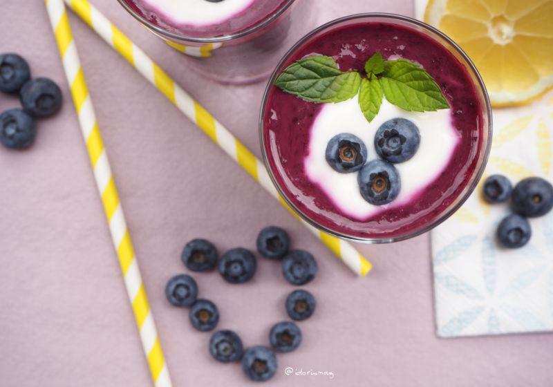 Veganer Frühstückssmoothie - Veganer gesunder Smoothie fürs Frühstück