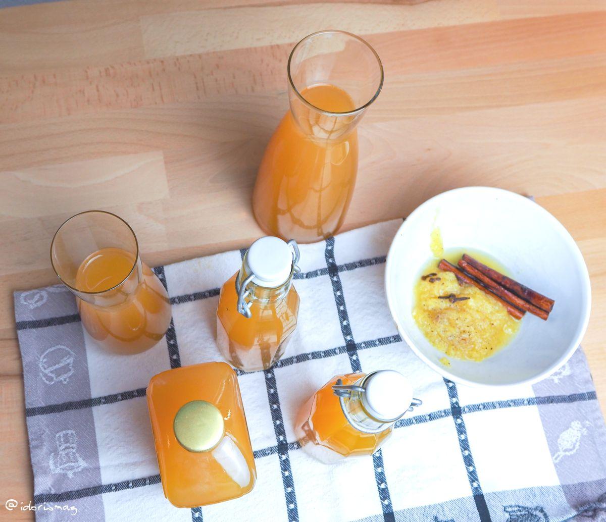 Orangen Punsch für den Advent vegan