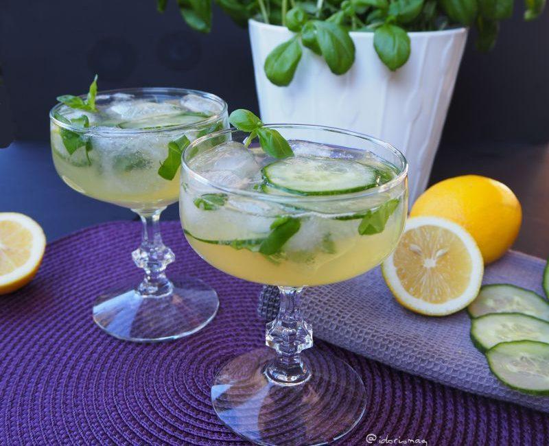 Gin Basilikum Gurke Gin Cocktail