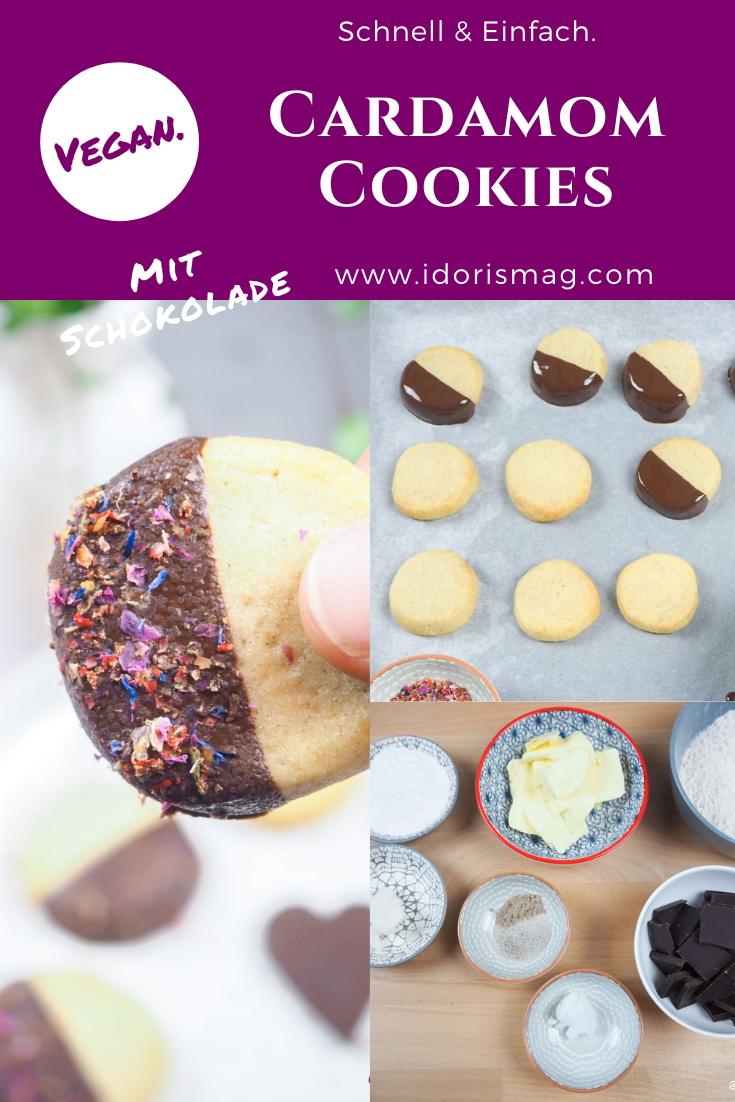 Vegane Cardamom Cookies - Veganes Rezept