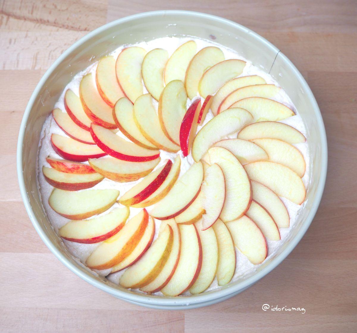 Veganer Apfelkuchen - Veganer Kuchen - Veganes Kuchenrezept