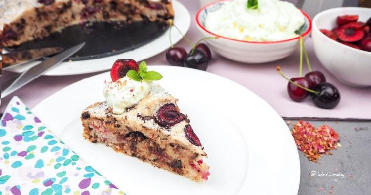 Einfacher falscher Schwarzwälder Kirsch Kuchen