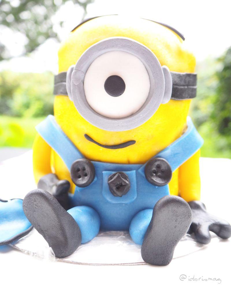 Bananaaaaa! – Vegane Minion Fondant Torte