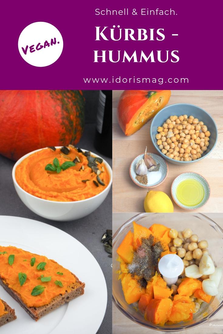 Kürbishummus - Hummus mit Kürbis