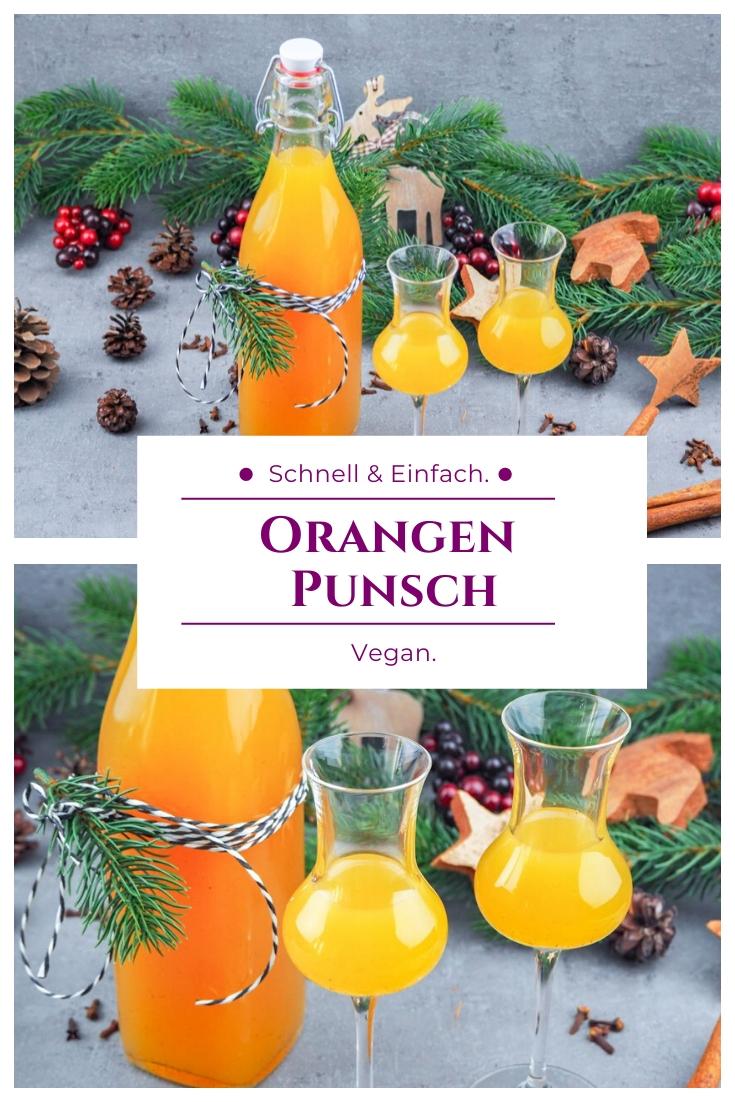 Orangen Punsch vegan