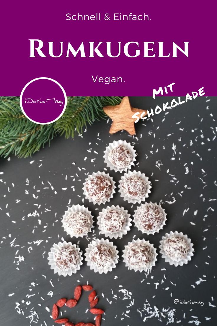 Rumkugeln - Vegane Rezepte