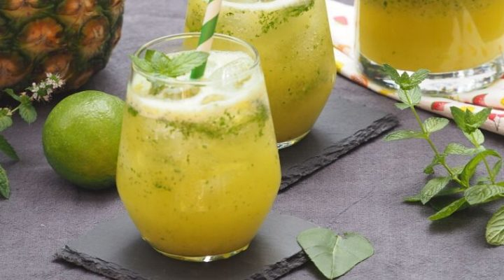 Smoothies - Ananas Minz Smoothie