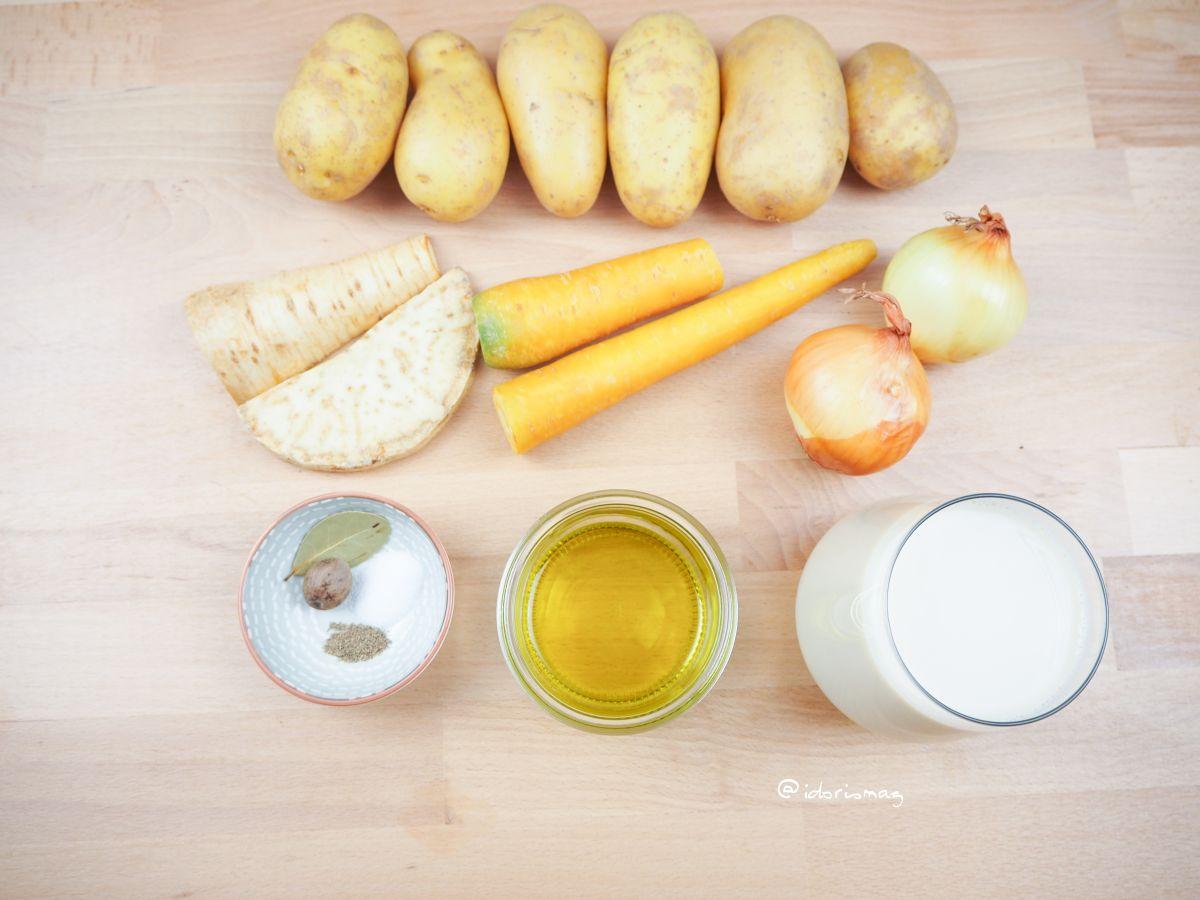 Vegan Recipe - Classic hearty potato soup