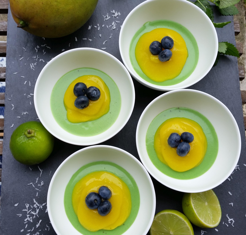 Veganer Brasilien Pudding